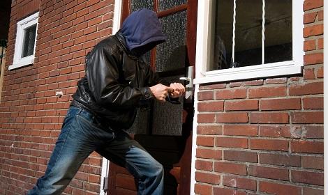 inbraakbeveiliging tegen inbreker